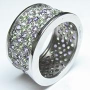 fascia stile bulgari con diamanti