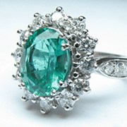 smeraldo taglio ovale